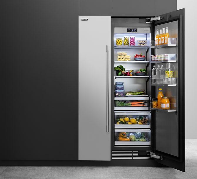 Le caratteristiche innovative conferiscono ai frigoriferi SKS versatilità e capienza