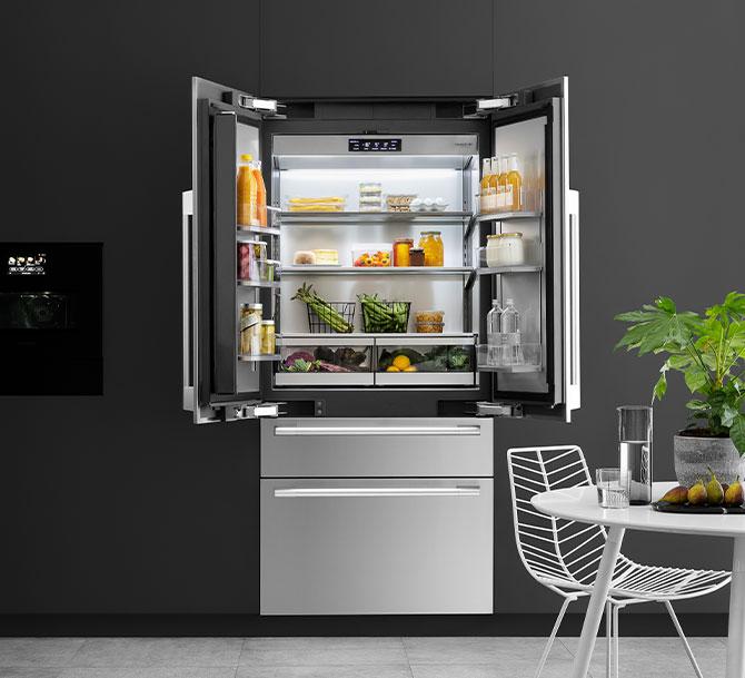 Estremamente flessibile e capiente, French Door il frigorifero ideale per le famiglie
