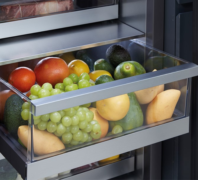 Estremamente flessibile e capiente, French Door SKS il frigorifero ideale per le famiglie