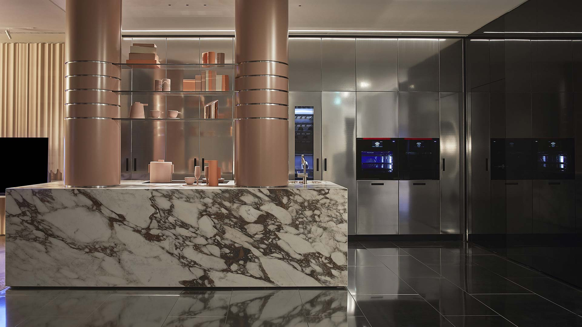 Il nuovo showroom Signature Kitchen Suite a Milano