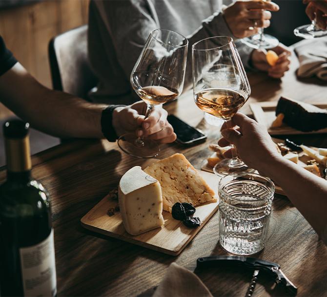 abbinamento vino e Parmigiano Reggiano