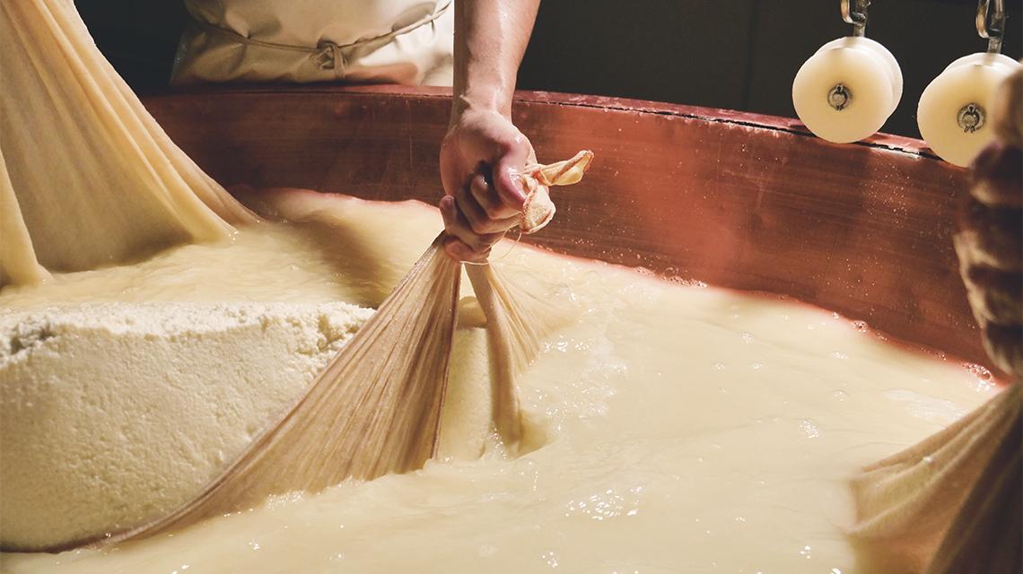 Storia del Parmigiano Reggiano