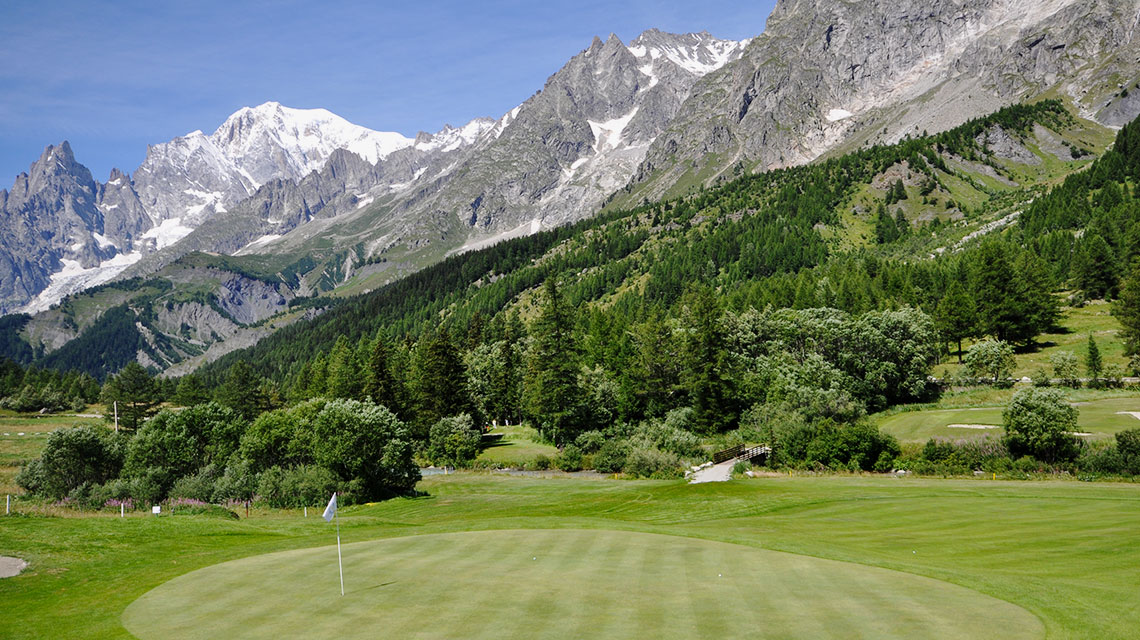 Golf Club Courmayeur et Grandes Jorasses Buca 2