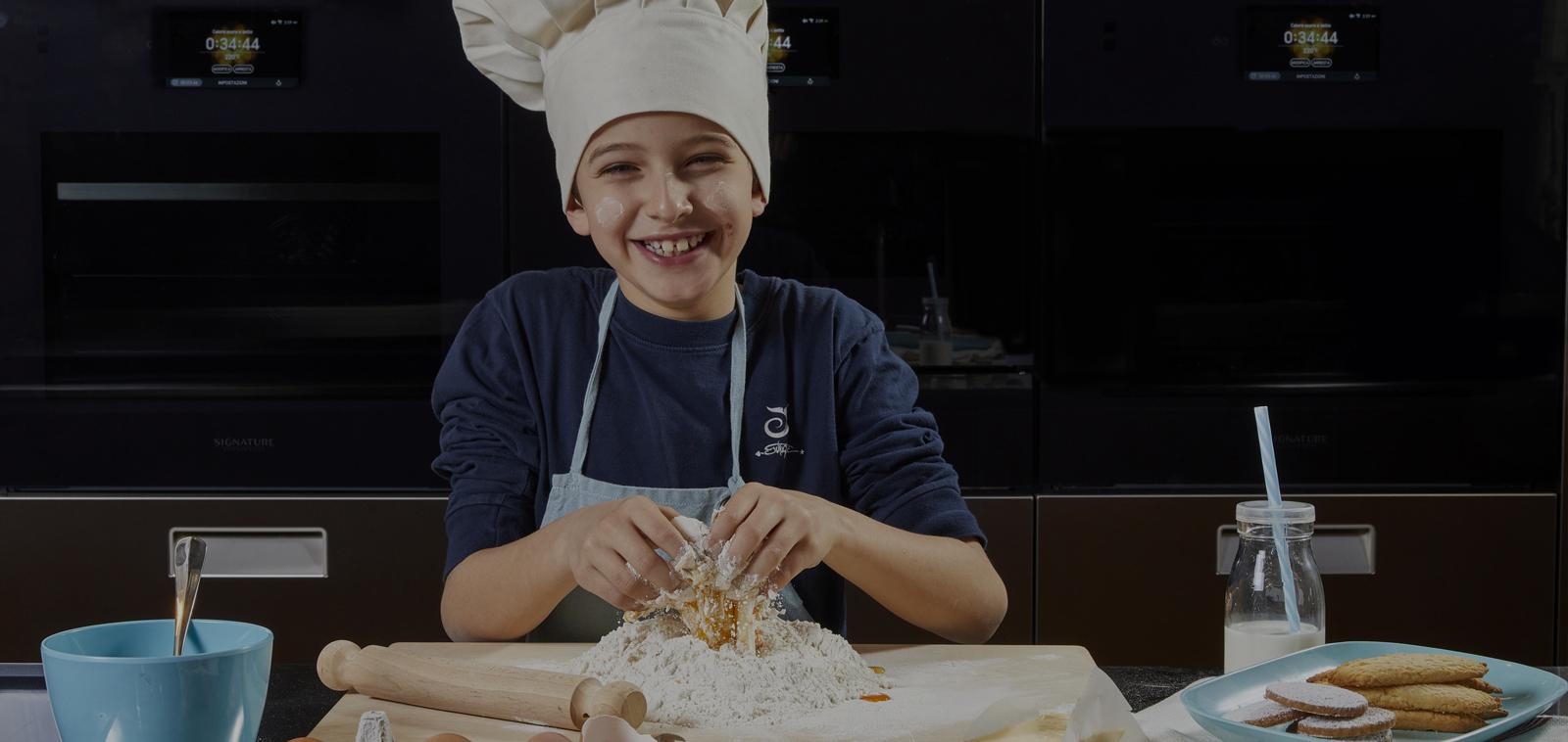 SKS Showroom Milano_Cooking 4kids