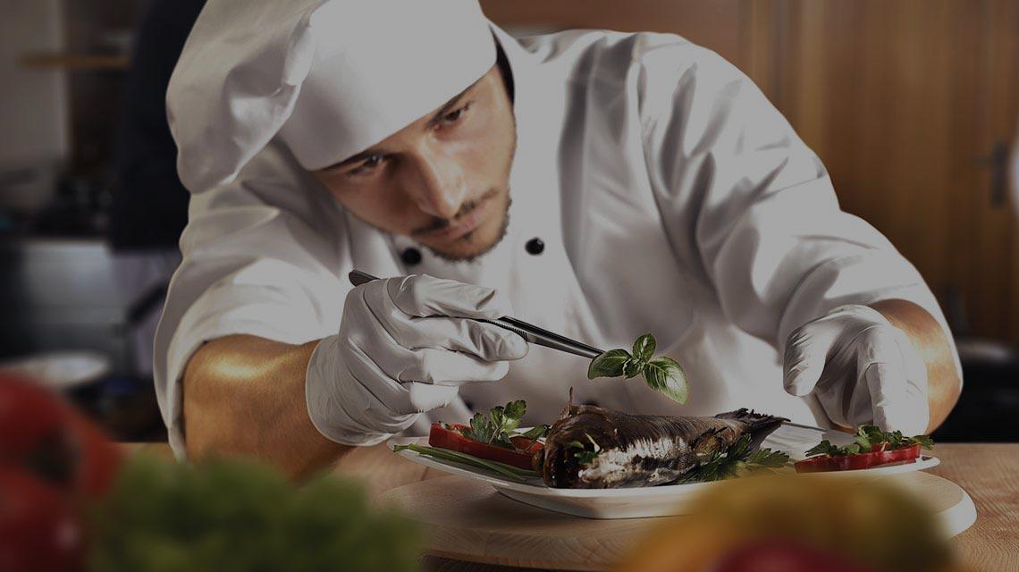 Chef professionista a casa tua