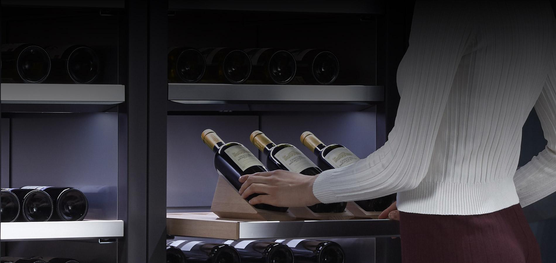 Signature Kitchen Suite: per ogni vino la sua temperatura