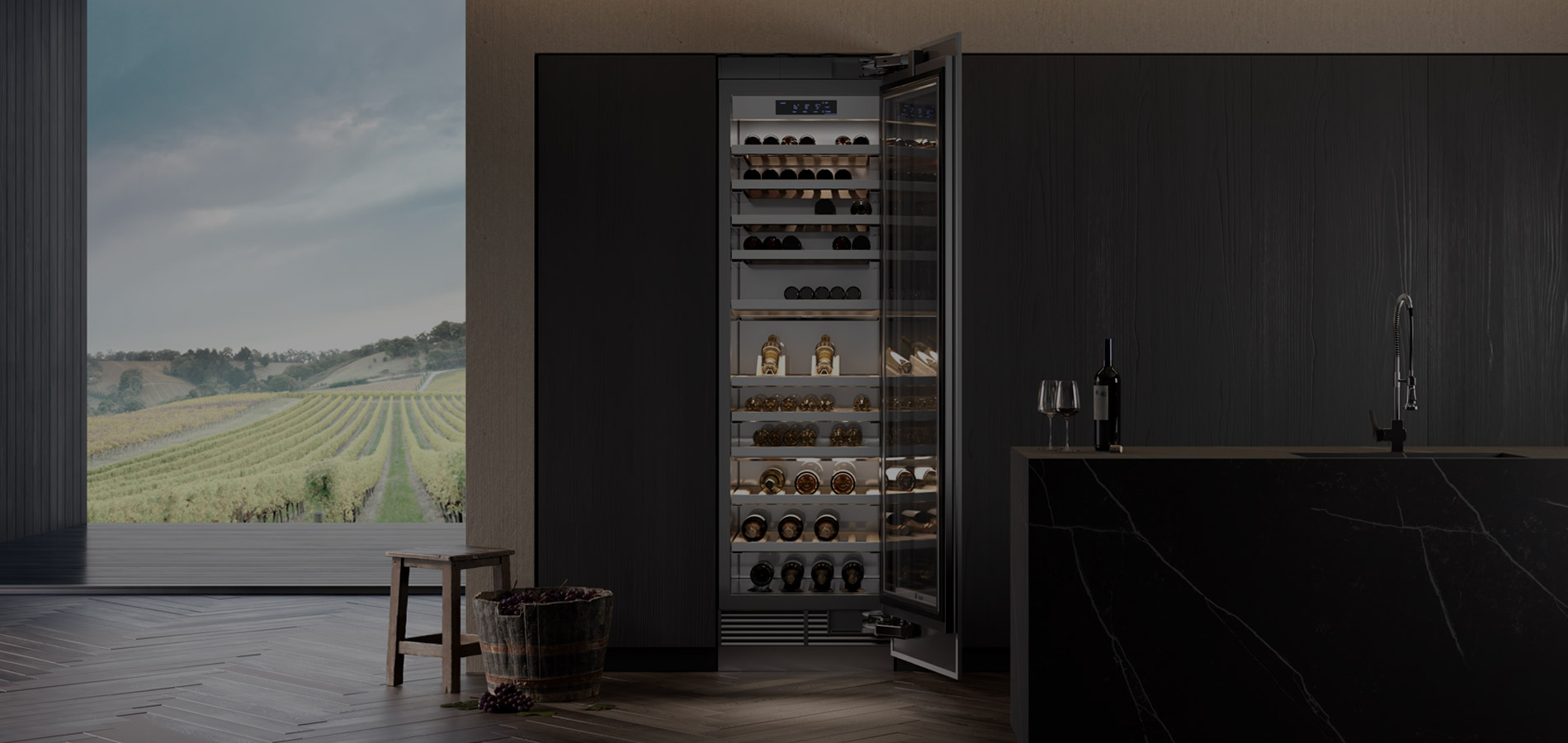 Maison Anselmet: il Coraggio del Vino d'Autore | Signature Kitchen Suite