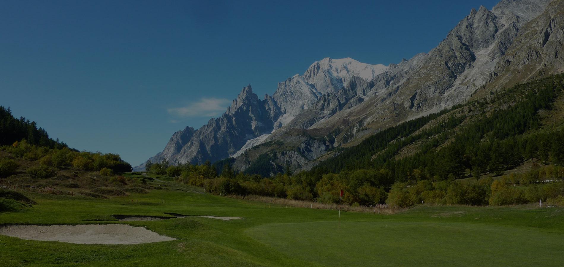 Golf Club Courmayeur et Grandes Jorasses Buca 3